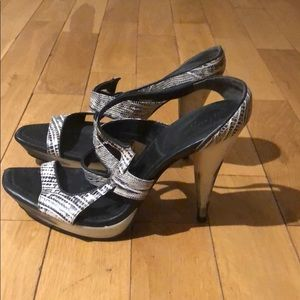 MAXAZRIA ONE OF A KIND HEELS